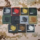2 pieces Metal Gear Solid FOX HOUND Special Force Group 3D PVC Patch