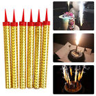 Sparkling Candles Gold Birthday Cakes Party Wedding Sweet 16 Bottle Services