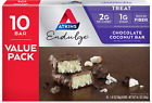Atkins Endulge Treat Chocolate Coconut Bar Rich Coconut Decadent Chocolate 10Pcs