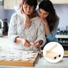 1 Pc Wooden Dough Pressing Tool Creative Kitchen Gadget for Home