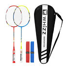 Badminton Set for Adults, Professional Rackets 2/4 Pack, with Bag  Grips