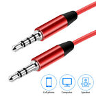 3.5mm Audio Extension Cable Stereo Headphone Cord Male to Female Car AUX MP3 24