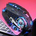 3200DPI 6 Key Light Weight Ultra Quiet Rechargeable RGB Gaming Mouse E-sports