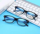 Men Women Vintage Computer Glasses Blue Light Filter Spring Hinges Eyeglasses