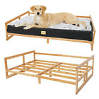 Orthopedic Large Dog Bed Frame Elevated Chaise Dog Bed Lounger Frame Heavy Duty