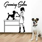 Funny Grooming Salon Wall Stickers Home Decor Girls Bedroom Sticker Mural Poster