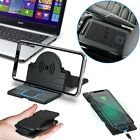 15W QI Wireless Car Phone Charger Charging Pad Mat For iPhone Samsung Universal