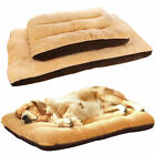 Large Dog Bed Cushion Pet Mattress Cover Machine washable indoor outdoor Brown