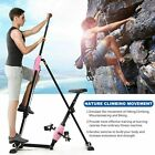 Vertical Climber Machine 2in1-Exercise Bike Foldable Exercise Step Machine SALE.