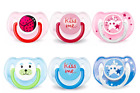 Philips Avent Classic Baby Pacifier for 6 - 18 Months, 3Pack 👍 👍