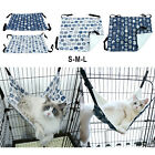 Cat Cage Hammock Indoor Washable Canvas Pet Rest Cozy Bed Comfy for Puppy