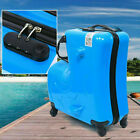 20 Inch ABS Spinner Wheels 3D Design Horse Shape Kids Luggage Ride-On Suitcase