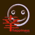 Japanese kanji symbol for happiness Hoodie vintage