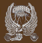 Choppers rule wing bikers Hoodie Crossed Bones emo