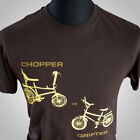 Chopper vs Grifter Retro T Shirt Vintage Raleigh Bikes 70's 80's Cool Hipster