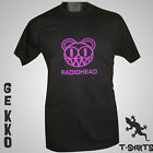 NEW RADIOHEAD LOGO T SHIRT COOL BANDS CLASSIC BLACK