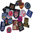 School Uniform Blazer Badges New embroided patches tags
