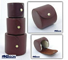 BISON HARD LEATHER FLY REEL CASE 3 SIZES AVAILABLE