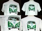 VW 88BPSW GREEN splittie KOMBI T-Shirt VWG034B VWG034W