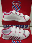 "K-Swiss Childrens Unisex White Trainers ""MOULTON STRAP"""