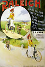 Vintage Bicycle POSTER.Stylish Graphic.Raleigh.Room Art Interior Decoration.800