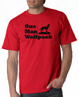 One Man Wolfpack T-shirt Movie Hangover 5 Colors S-3XL