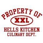 Property of Hells Kitchen T-shirt TV 3 Colors S-3XL