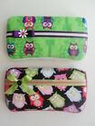 Owl Theme Baby Wipes Case Black or Green