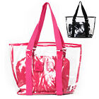 Plastic Transparent Handbag Tote Shoulder crystal Bag
