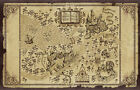HARRY POTTER MAP Photo Poster Print Wall Art Large