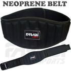 "Weight Lifting Belt Gym Fitness Workout Training Back support 6"" Body Building"