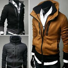 NWT Mens Slim  Sexy Top Designed  Hoody Jacket M L XL XXL  3color  E32