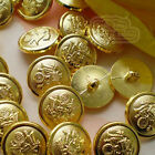 Gold  Insignia ABS Plastic Buttons Sewing Scrapbooking 20mm,24mm ABS02