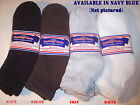 FREE SHIP 6 Pairs Mens Physicians Choice Diabetic Ankle Socks  10-13  US Made!