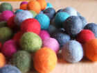 2cm PLAIN felt balls/beads x 10 part 2!