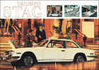 Triumph TR7 Red Classic Showroom Car Picture Poster Print A1 & A3 + TR2-TR6 Stag