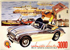 Austin Healey 3000 Mark III Convertible Vintage Advertising Picture Print Poster