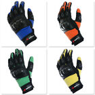 RTX Moto X Flexi Grip Hard Knuckle Leather Motocross Motorbike Motorcycle Gloves