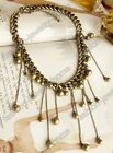 Fashion Retro Bronze Style Chain Chokers Charming Necklace New!!!