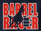 Barrel Racing Rodeo Horse and Rider T-Shirt Multiple Colors & Sizes