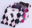 Tommy Hilfiger Women Argyle Cardigan Long Sleeve Sweater - Free $0 Shipping