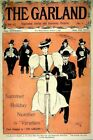 Vintage Old Transport Poster The Garland 1896 Print Art A4 A3 A2 A1