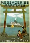Vintage Old Transport Poster Japan maritime Print Art Canvas A4 A3 A2 A1