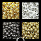 SPACER BEADS STARDUST BLING ROUND 4mm choice of finishes 100pc