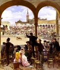 Y Plaza De Toros Festival Picture Reproduction Art Print A4 A3 A2 A1