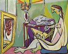 Picasso The Muse REPRO Art Print A4 A3 A2 A1