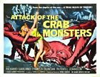 ATTACK OF CRAB MONSTER 02 B-MOVIE REPRODUCTION ART PRINT A4 A3 A2 A1