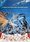 DESTROY ALL MONSTERS 03 B-MOVIE REPRODUCTION ART PRINT A4 A3 A2 A1