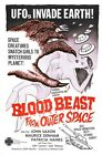 BLOOD BEAST FORM OUTER SPACE B-MOVIE REPRODUCTION ART PRINT A4 A3 A2 A1