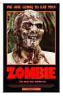 ZOMBIE II B-MOVIE REPRODUCTION ART PRINT A4 A3 A2 A1